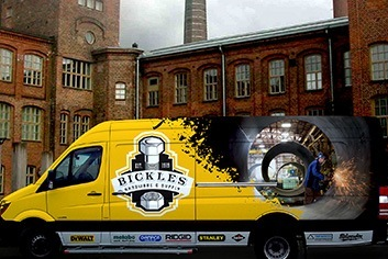 Bickles Hardware Truck Wrap