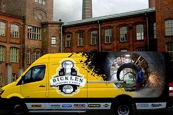 Bickles Hardware Truck Wrap